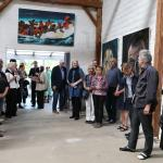 Vernissage PAMPINALE II am 6.5.18 / Bilder von Angela Zander-Reinert